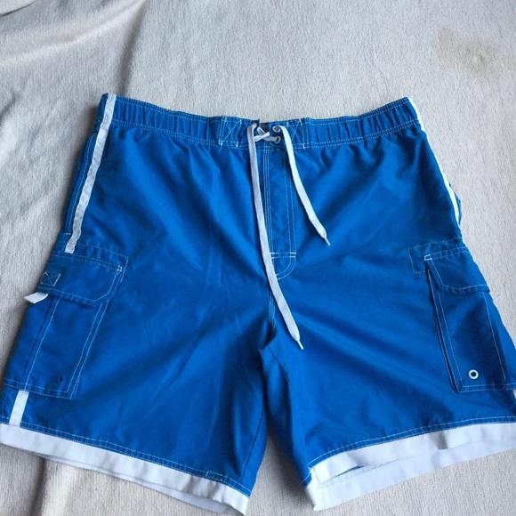 4c1045c18f Faded Glory Swim | Mens Trunk Shorts Blue | Poshmark